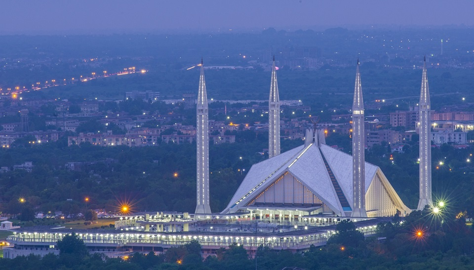 Map of Pakistan & Travel Guide, Islamabad Serena Hotel, Faisal Mosque  Islamabad