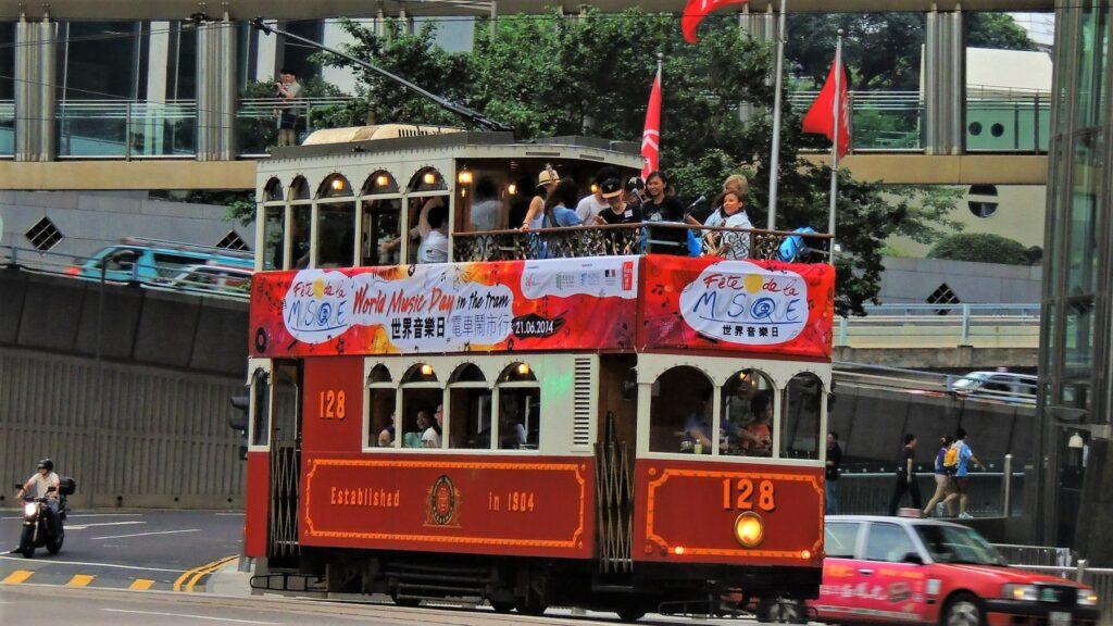 Hong Kong tramoramic tour double deck tram cheap tickets travel tour review