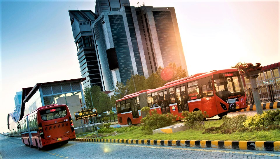 Map of Pakistan & Travel Guide,  Metro Bus Islamabad