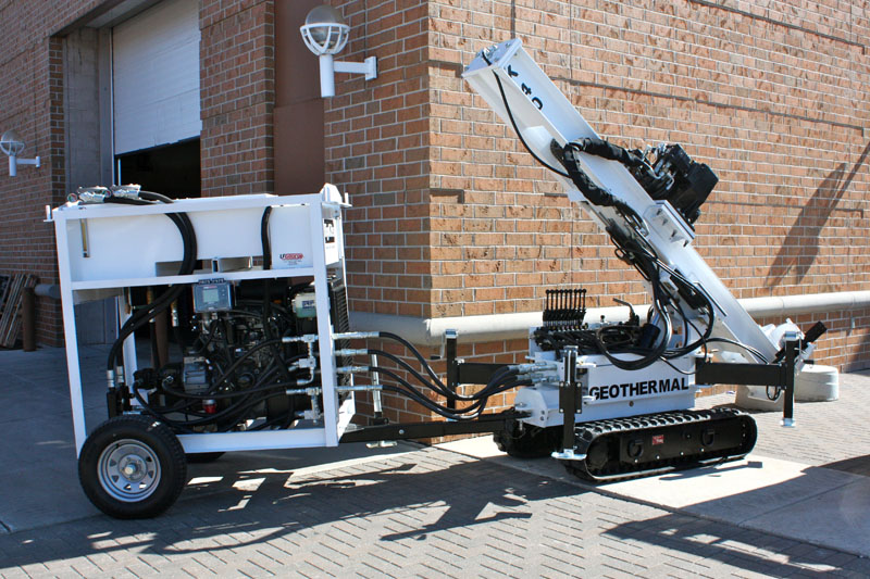 K40 Drilling Rig for micropiling and restricted access drilling