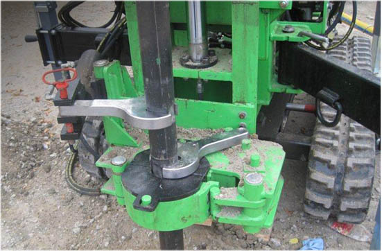 Clam Clamps with breakout wrenches