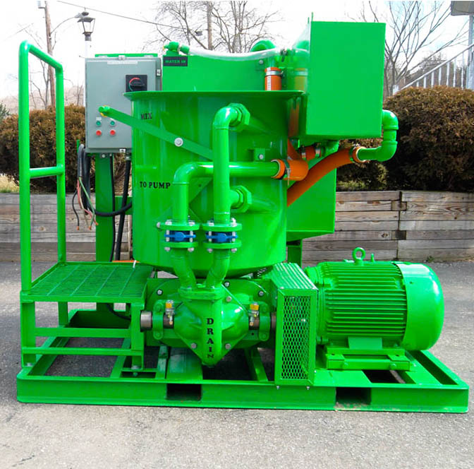 Colloidal Grout Mixer for bentonite geothermal grout