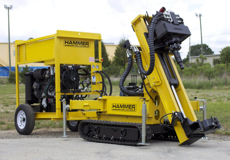 Restricted Access K40 Drilling Rig for micropiling and geothermal drilling