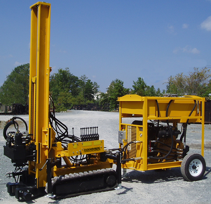 K40 Restricted Access Drilling Rig