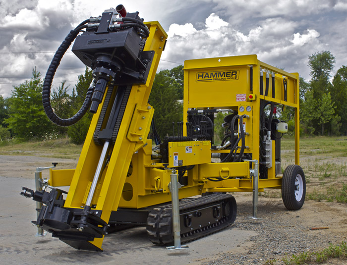 Limited Access K40 Drill Rig