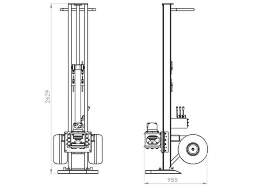 R10 Man Portable Drilling Rig