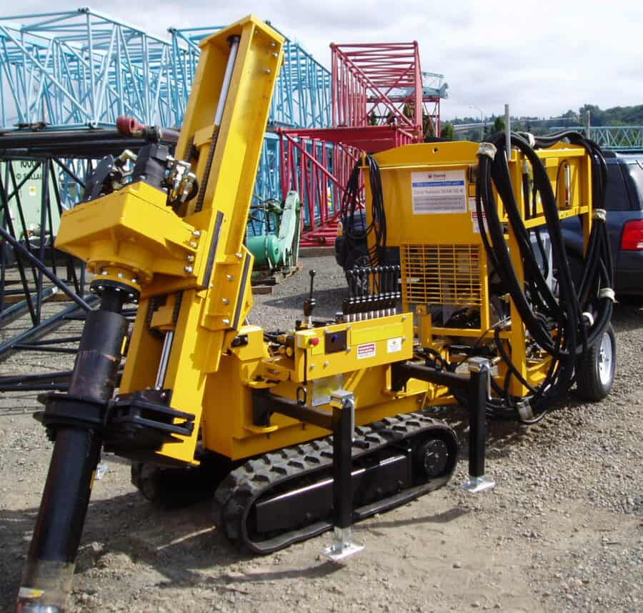 K40 Micropiling Low Headroom Drill Rig
