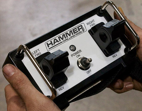Drill rig remote controls