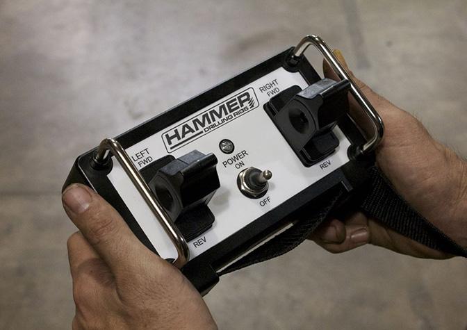 Drill rig remote controls