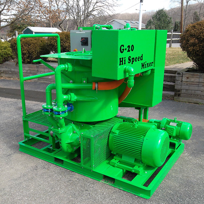 Geothermal grout mixer