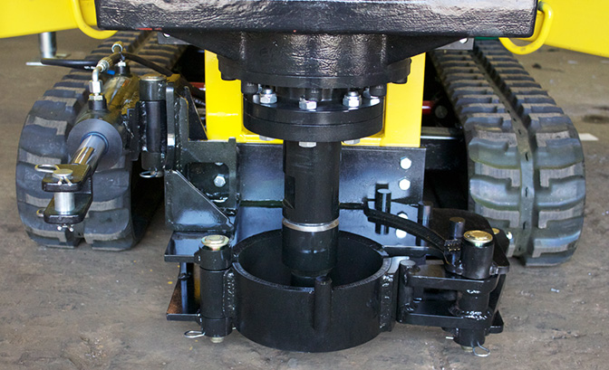 Hydraulic breakout clam clamps