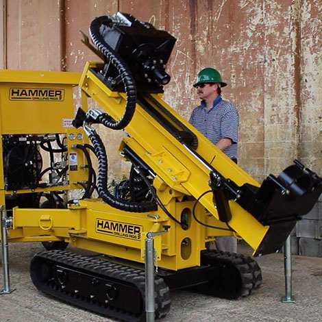 K40 Low headroom drilling rig