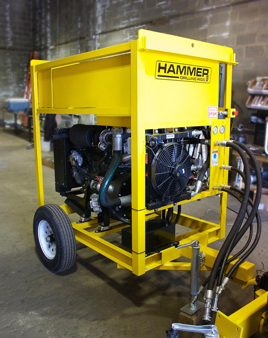 Hammer Drilling Rigs Hydraulic Power Unit