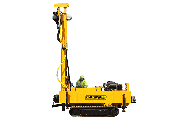 K60 micropiling and geothermal drilling rig