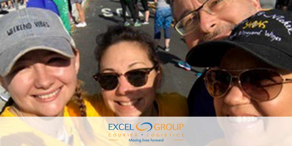Excel Group Staff at Massey Challenge Fundraiser
