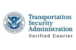 TSA Verified Courier Logo