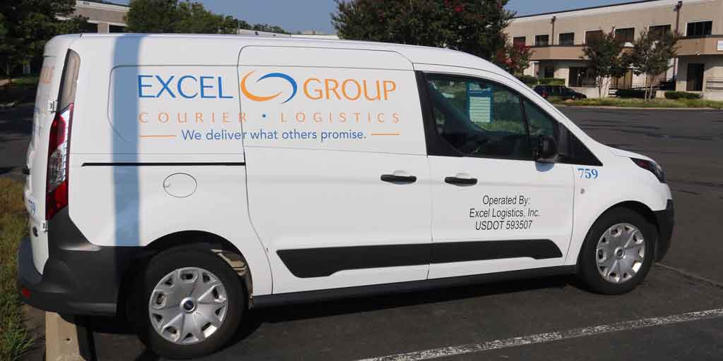 Excel Courier Transport Vehicle