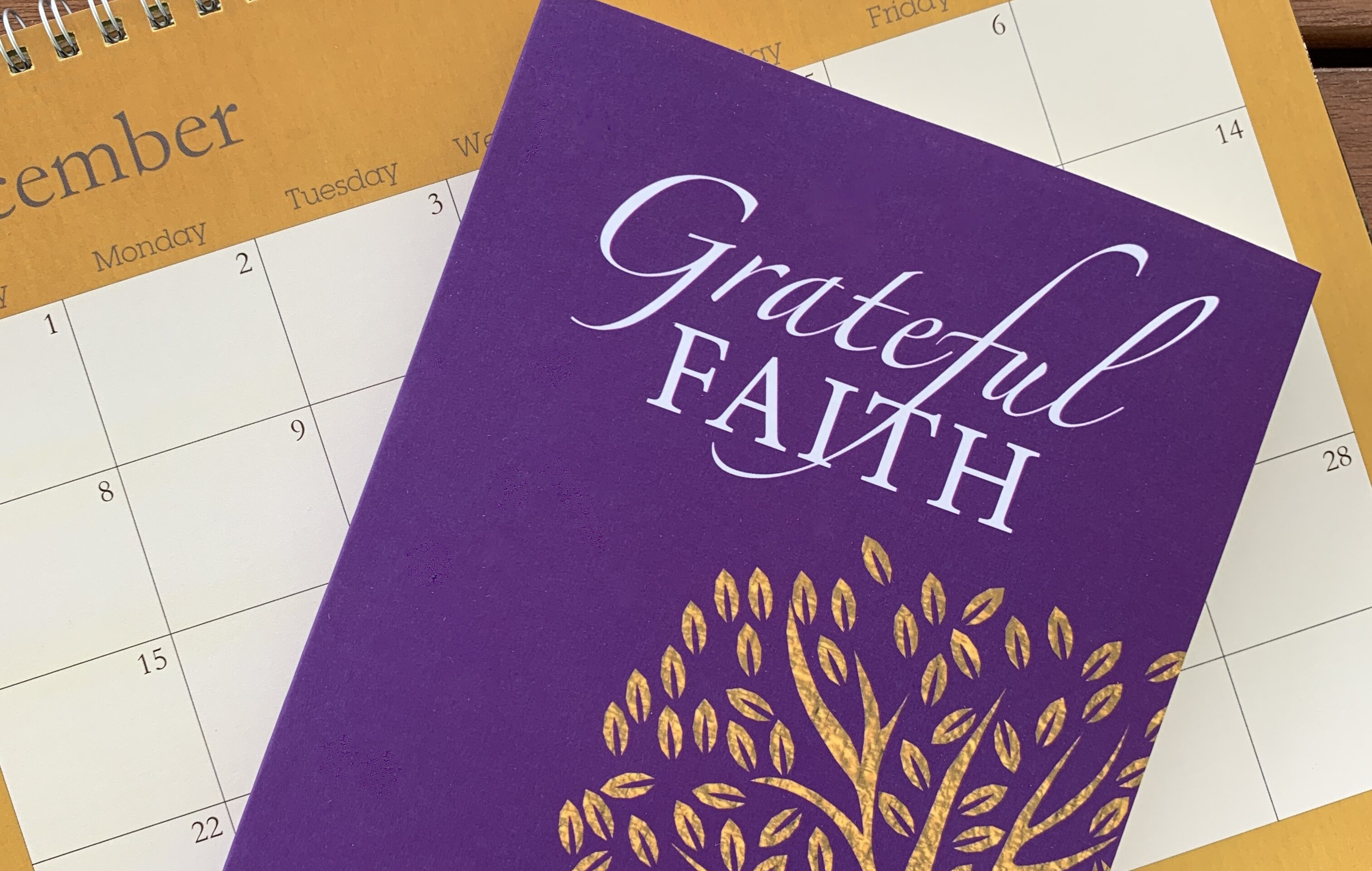 Grateful Faith on December calendar