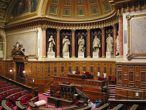 """Photo of French Senate committee's take on """"Armenian genocide law"""" negative"""