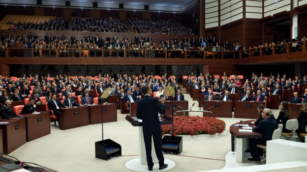 Photo of Turkey lifts ban on pants for female MPs in the parliament
