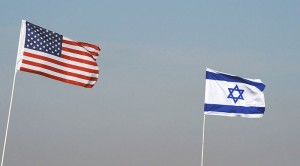 US-Israel flags