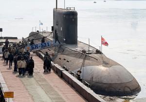 Russian kilo-class submarine