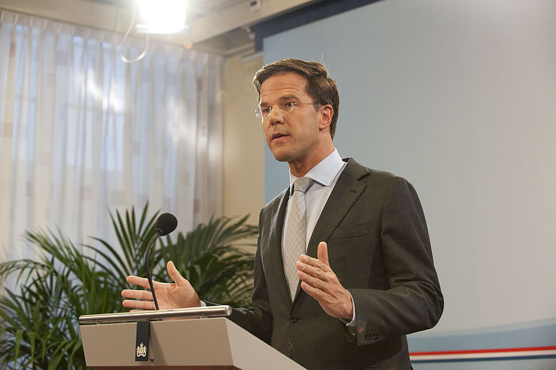 Photo of Mark Rutte will talk about gay rights in Sochi
