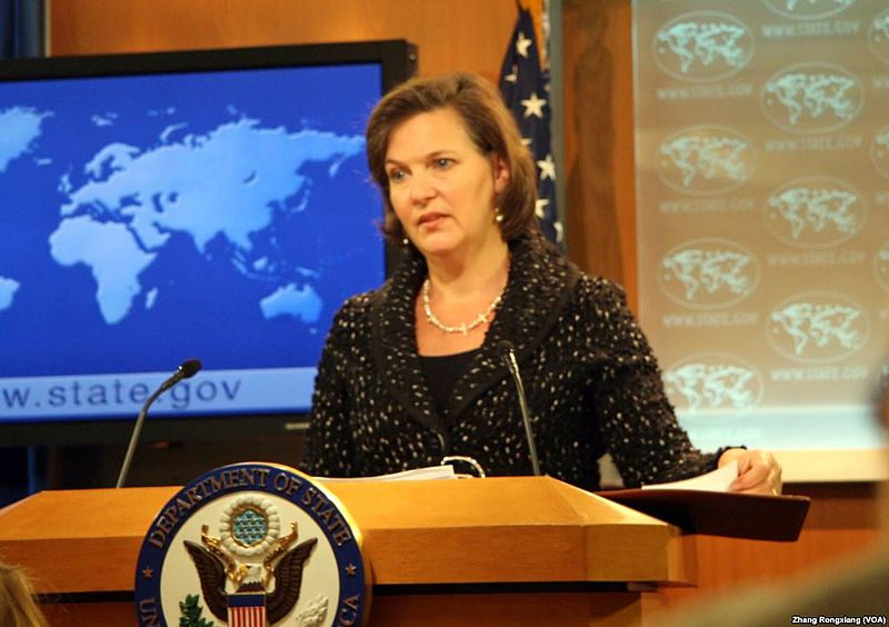 Photo of 'F#$% the EU,' Nuland says in the midst of her visit to Ukraine