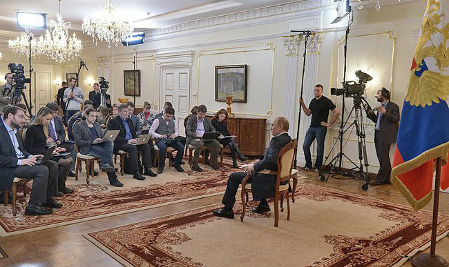 Photo of Russia not to succumb to external pressure: Putin