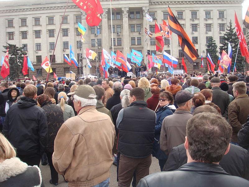 Photo of Clashes in Odessa weaken Kyiv's bid to quell unrest