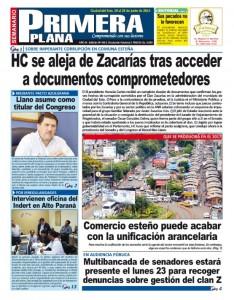 Blas Llano Primera Plana