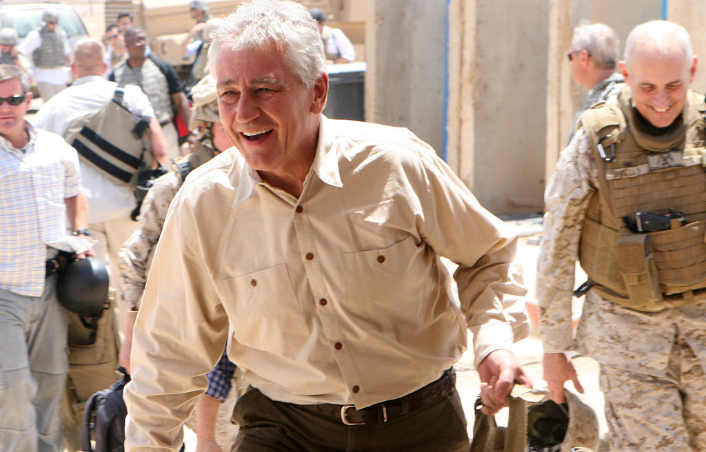 Photo of Chuck Hagel to step down
