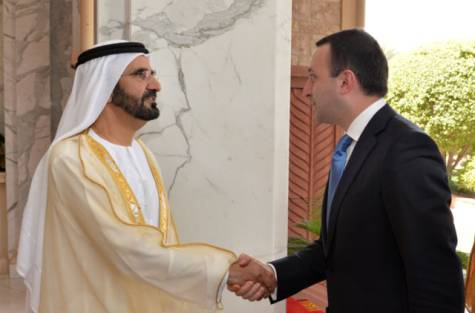 Photo of Shaikh Mohammad and Georgian PM discuss ways to expand cooperation