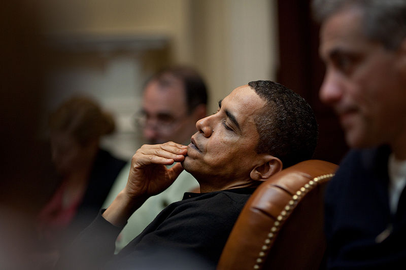 Photo of Obama's call for 'Global Zero'