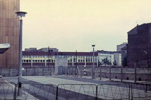 The view from the east side of Berlin