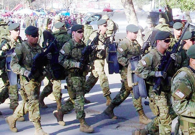 Photo of The Chilean military promotes diversity by recruiting indigenous people