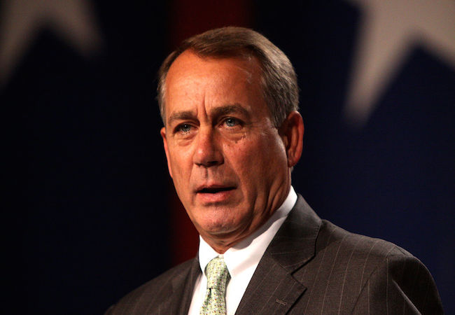 Photo of John Boehner re-elected as U.S. House Speaker