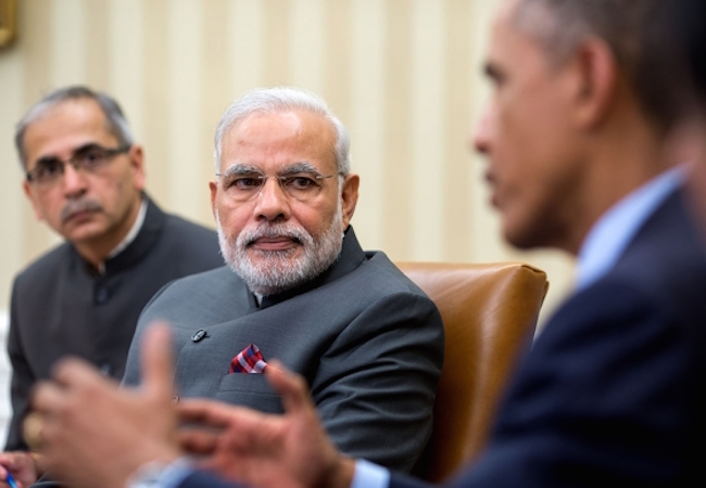 Indian Prime Minister Modi at the Oval Office in September 2014 (Photo: Courtesy of WikiCommons)