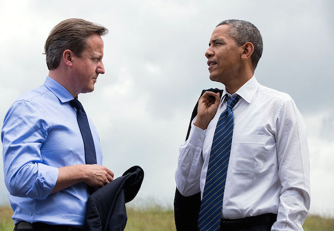 Photo of Obama and Cameron, com'on – all we need is Fromm