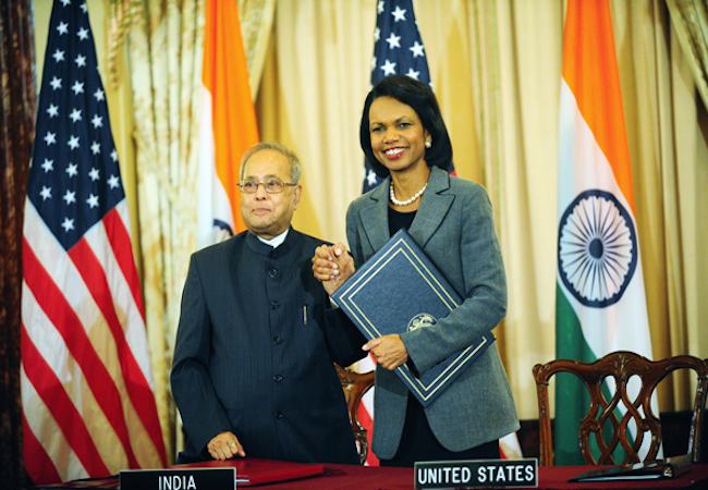 Photo of United States' India nuclear policy