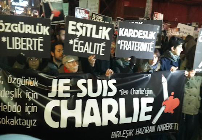 """Photo of Reconsidering the transformation of global politics after the attack on Charlie Hebdo: """"Our Values"""" versus """"Your Values"""""""