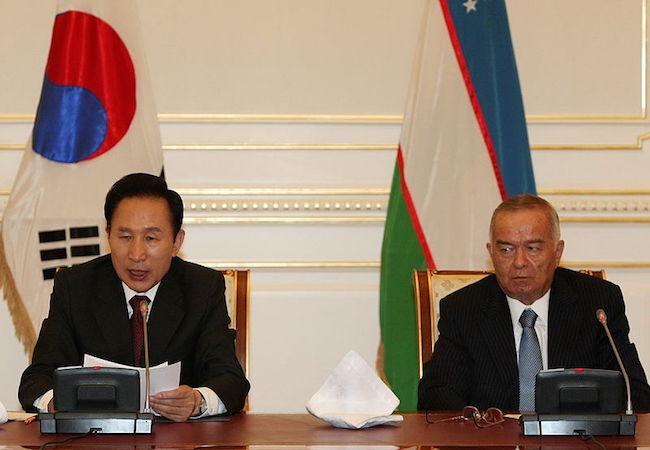 Photo of Uzbek leader in coma?