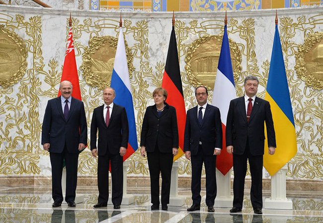 Photo of Ukraine peace deal brokered after four-way marathon talks