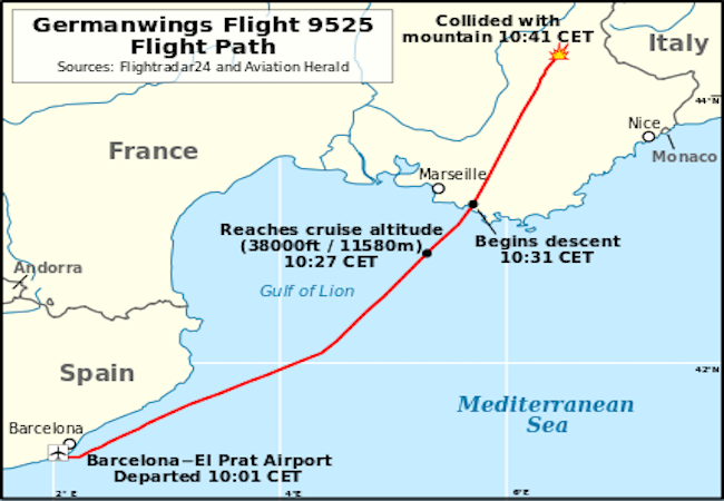 Photo of Germanwings unveils details of victims' nationalities