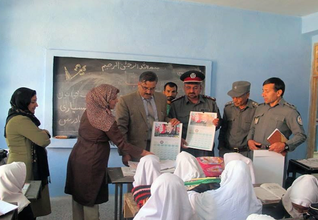 Photo of Afghanistan: Community policing activities to save children's lives