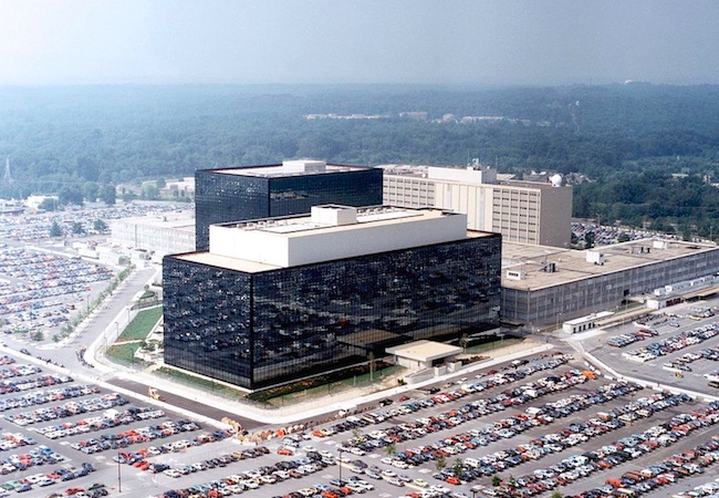 Photo of Shootout outside US NSA building appears 'local criminal matter'