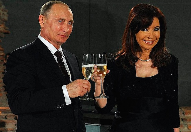 Photo of Cristina Fernandez will visit her close new friend Putin on April 22/23