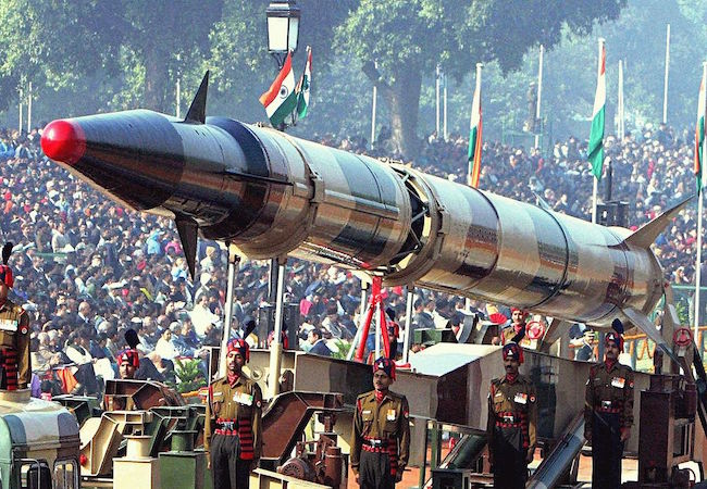 Photo of India's ballistic missiles; derivative of peaceful space cooperation