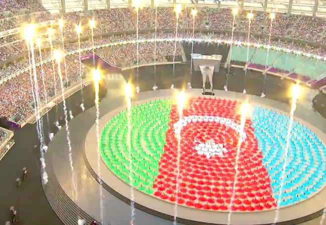 Photo of Baku declares European Games open