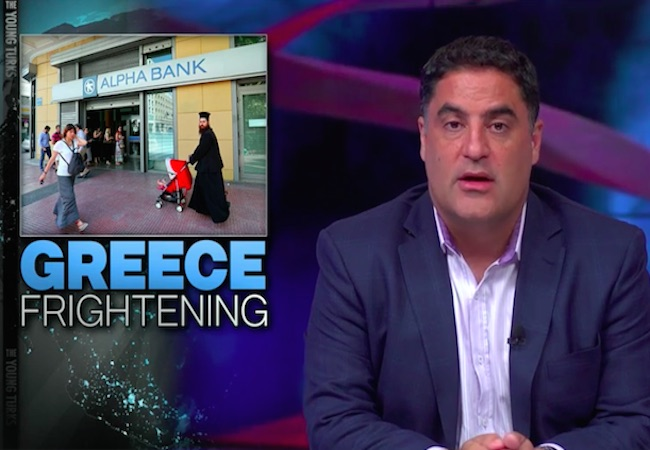Photo of Cenk Uygur slams Greece's 'dumbass' creditors for irresponsibly loaning Greece money